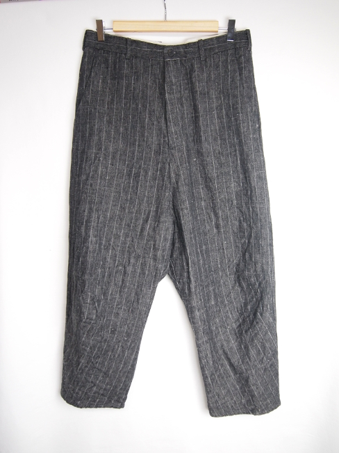 【FINALSALE 40%OFF!!1月31日(水)まで!!】←【30%OFF!!!】←[送料無料]FORME D' EXPRESSION/TAILORED BAGGY PANTS.  [23-172-0009]