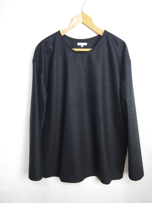 【SALE/セール/30%OFF】[送料無料]Lownn/T2 LONG SLEEVE FLANNEL TEE. [21-172-0002]