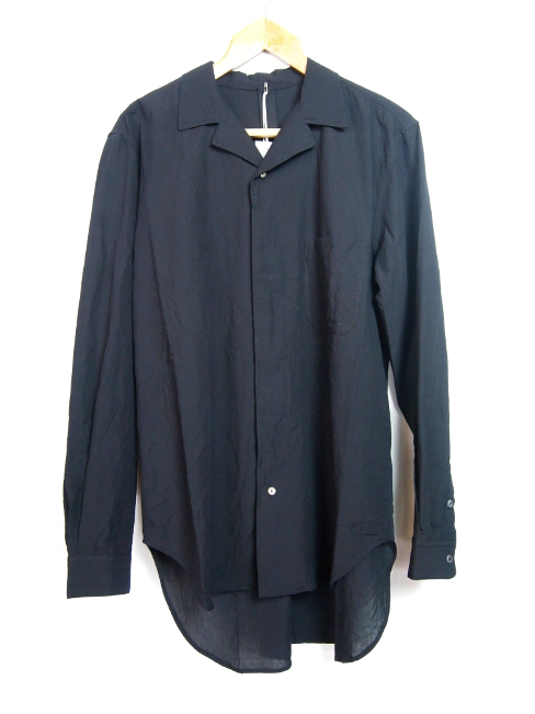 ≪New Arrival≫[送料無料]FORME D' EXPRESSION/CONVERTIBLE COLLARED SHIRTS.  [21-181-0001]