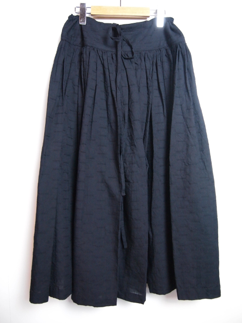 ≪New Arrival≫[送料無料]FORME D' EXPRESSION/GATHERDDIMDLE SKIRTS.  [33-181-0001]