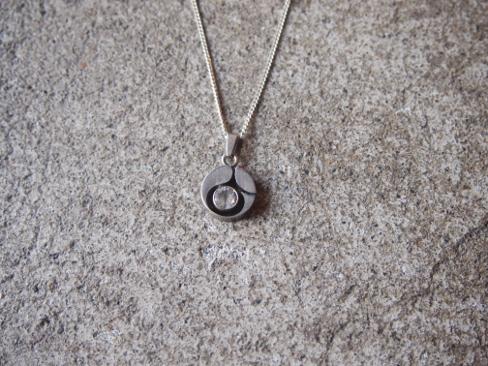 [送料無料]1950S Silver Necklace. [59-162-0001]