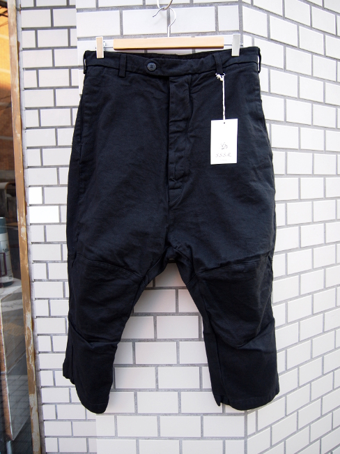 ≪New Arrival≫[送料無料]SANGUE SACRO SULLE ROSE/TROUSERS BLACK. [33-171-0002]