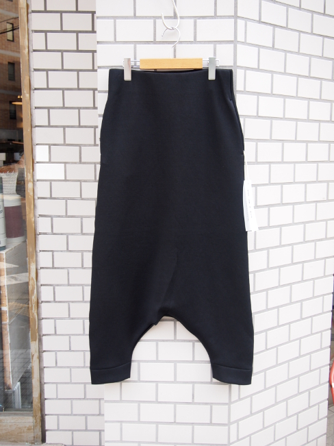 ≪New Arrival≫[送料無料]FORME D' EXPRESSION/JERSEY TRAPEZ PANTS.  [43-171-0004]