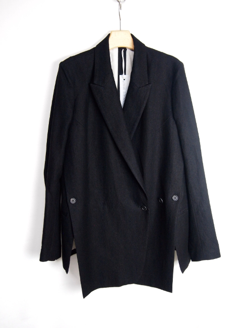 【FINALSALE 40%OFF!!1月31日(水)まで!!】←【30%OFF!!!】←[送料無料]FORME D' EXPRESSION/STRATUM WRAP JACKET.  [37-172-0002]