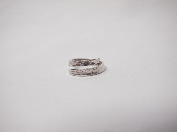 【1点もの】[送料無料]NORTHWORKS/ノースワークス/Washington QUARTER DOLLAR RING. [N991]