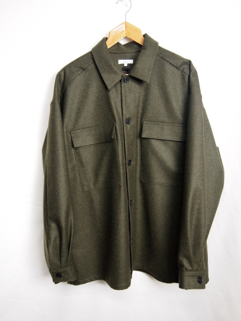 【FINALSALE 40%OFF!!1月31日(水)まで!!】←【30%OFF!!!】←[送料無料]Lownn/NATE OVERSIZE OVERSHIRTS. [21-172-0003]