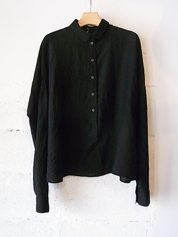 【SALE/セール/30%OFF】[送料無料]Forme d'expression/Cropped serafino shirt. [41-152-0004]