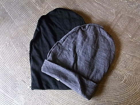 Forme d'expression/Twisted beanie. [38-152-0003]