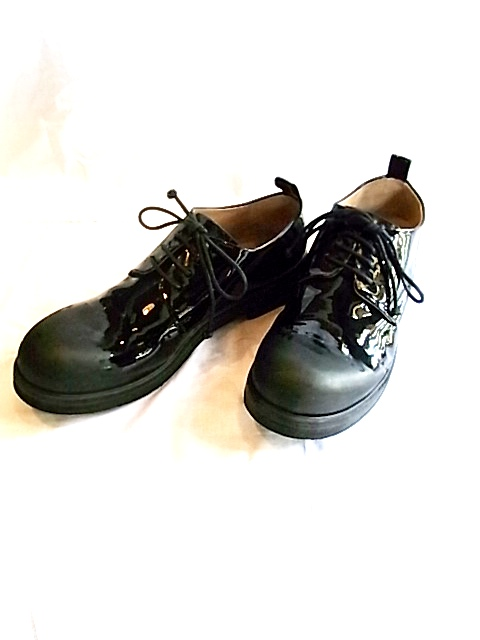 [送料無料]Marsell/マルセル/P-toe patent leather[35-132-0003]