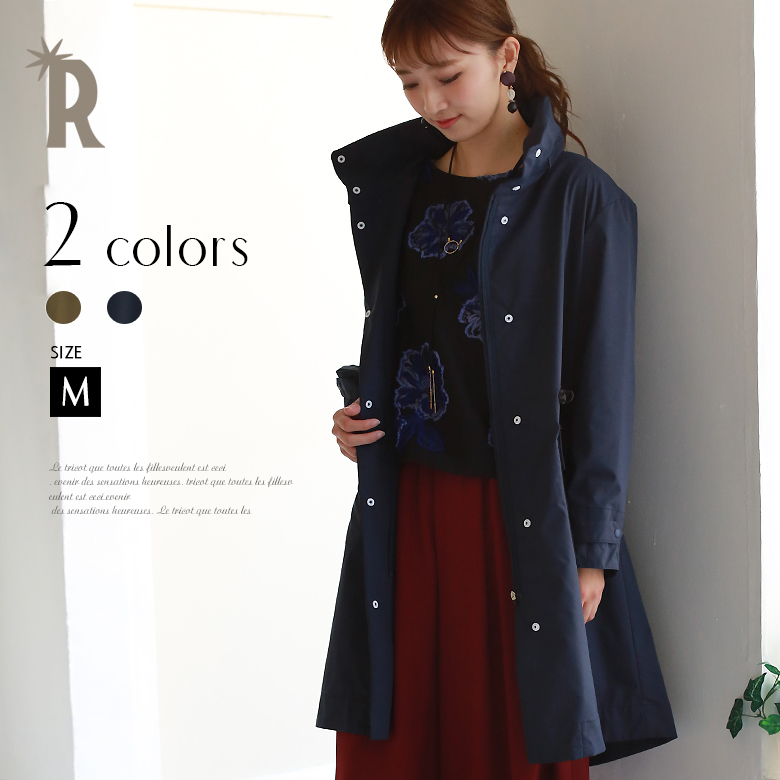 RUXE de'vance Made in Japanミリタリーコート(734124)【2017 A/W】▼