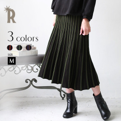 Praise Made in Japan ストライプニットスカート(752-36061)【2017 A/W】▼