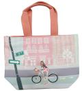 Bike-girl トートバッグ中