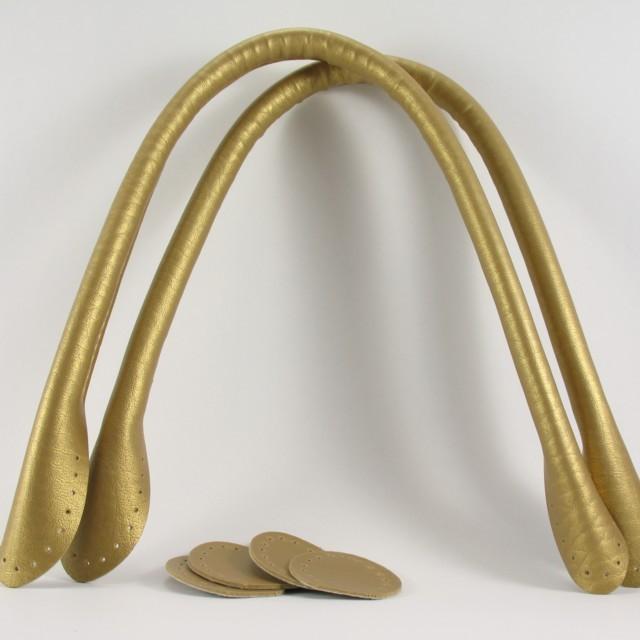 合皮もち手40cmゴールド
