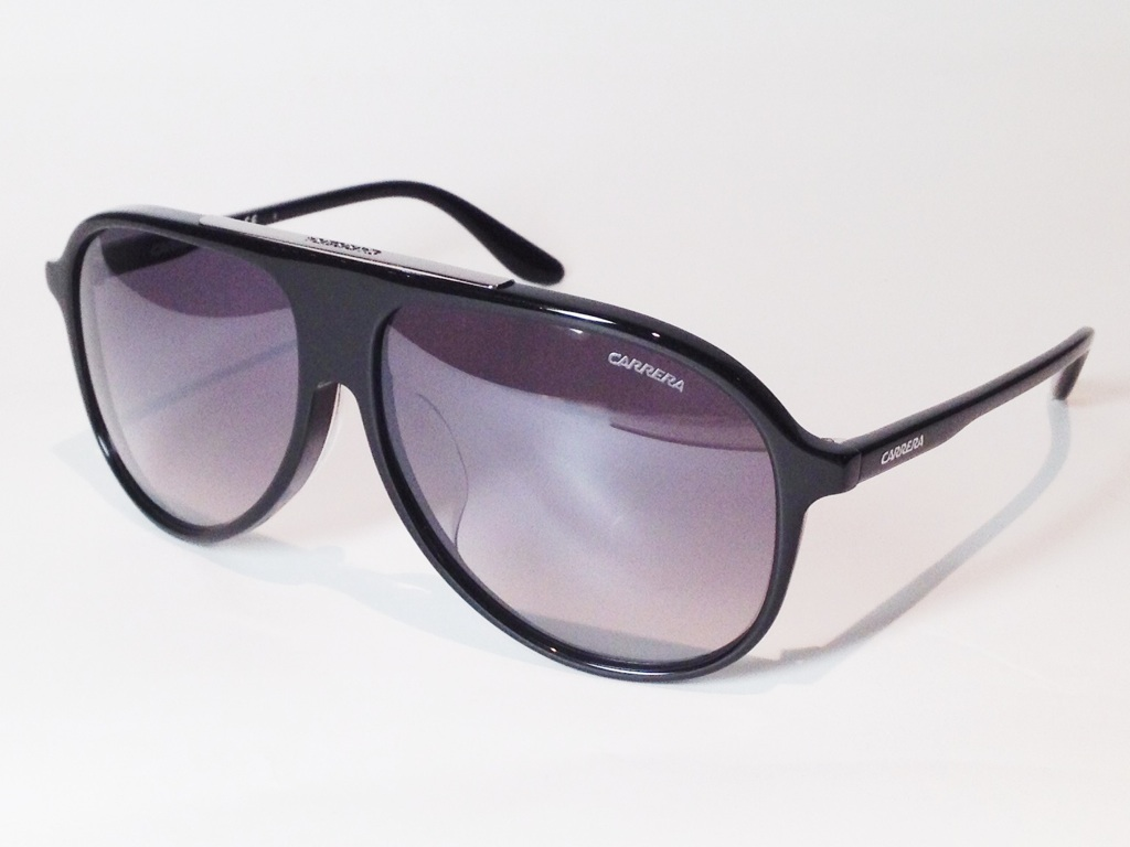 【送料無料】CARRERA(カレラ) CARRERA 6015/F/S 807IC ( Shiny Black / Grey Shaded )