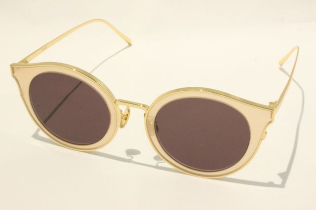 【送料無料】A.D.S.R.(エーディーエスアール) AMON 05 ( Pale Beige-Gold / Brown Lens )