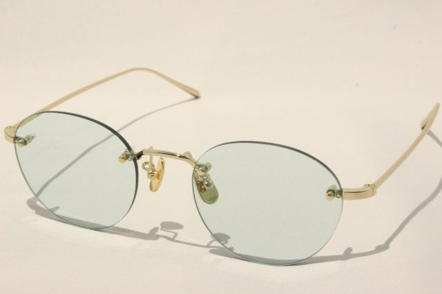 【送料無料】A.D.S.R.(エーディーエスアール) BULLOCK  01 ( Gold / Light Green Lens )