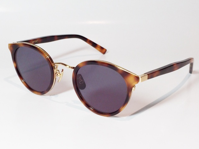【送料無料】A.D.S.R.(エーディーエスアール) REICH  03 (Havana Brown / Gold / Black Lens )