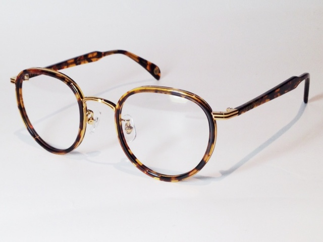 【送料無料】FREEDOM SPECTACLES (フリーダムスペクタクルス) MARLON  COLOR. 13 ( TORTOISE - GOLD / CLEAR )