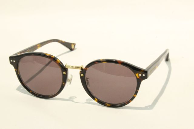 【送料無料】FREEDOM SPECTACLES (フリーダムスペクタクルス) MARTIN  COLOR. ( Tortoise - Yellow Gold  / Brown )