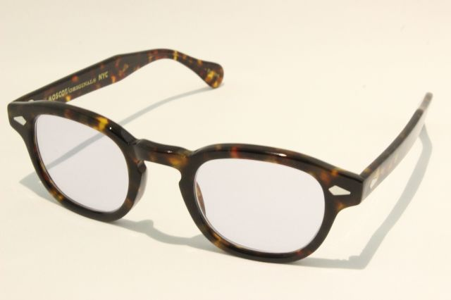 【送料無料】MOSCOT(モスコット) LEMTOSH - Reminence CUSTOM  size:44 ( Tortoise / Purple )