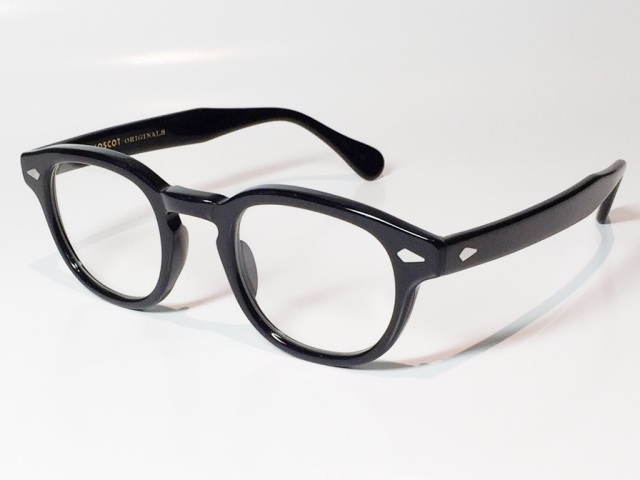 【送料無料】MOSCOT(モスコット) LEMTOSH  size:46 ( BLACK / CLEAR )