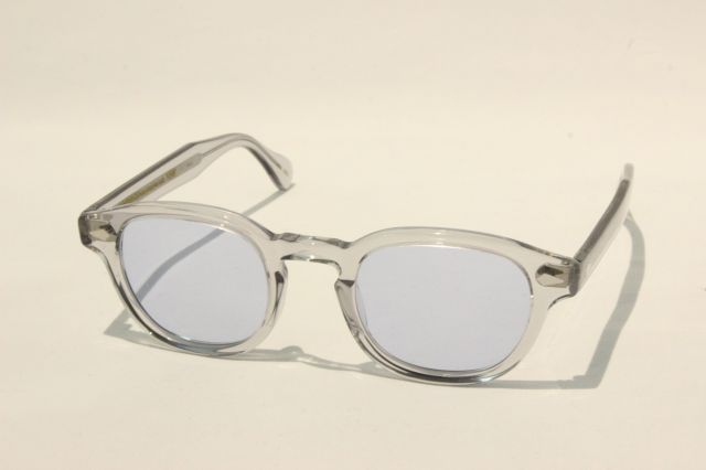 【送料無料】MOSCOT(モスコット) LEMTOSH - Reminence CUSTOM  size:46 ( LIGHT GREY / BLUE )