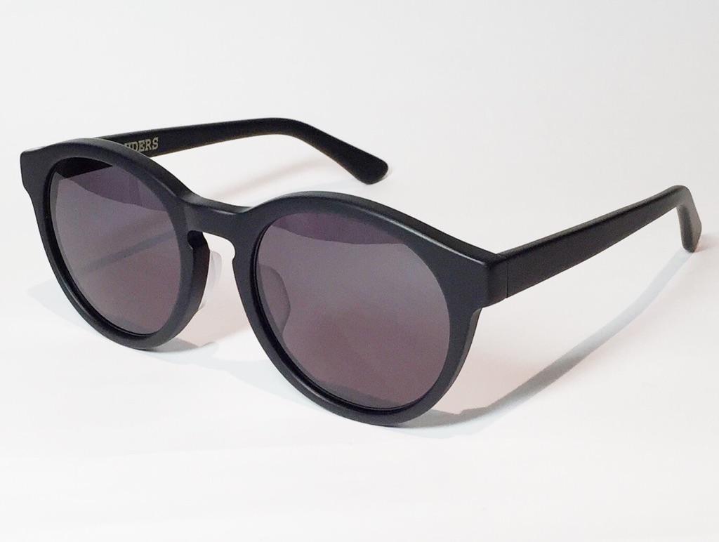 【送料無料】MARAUDERS(マローダーズ) BLACK JACK C.01  (Matte Black / Grey Lens)