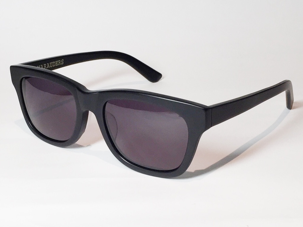 【送料無料】MARAUDERS(マローダーズ) SPELL BOUND C.01  (Matte Black / Grey Lens)