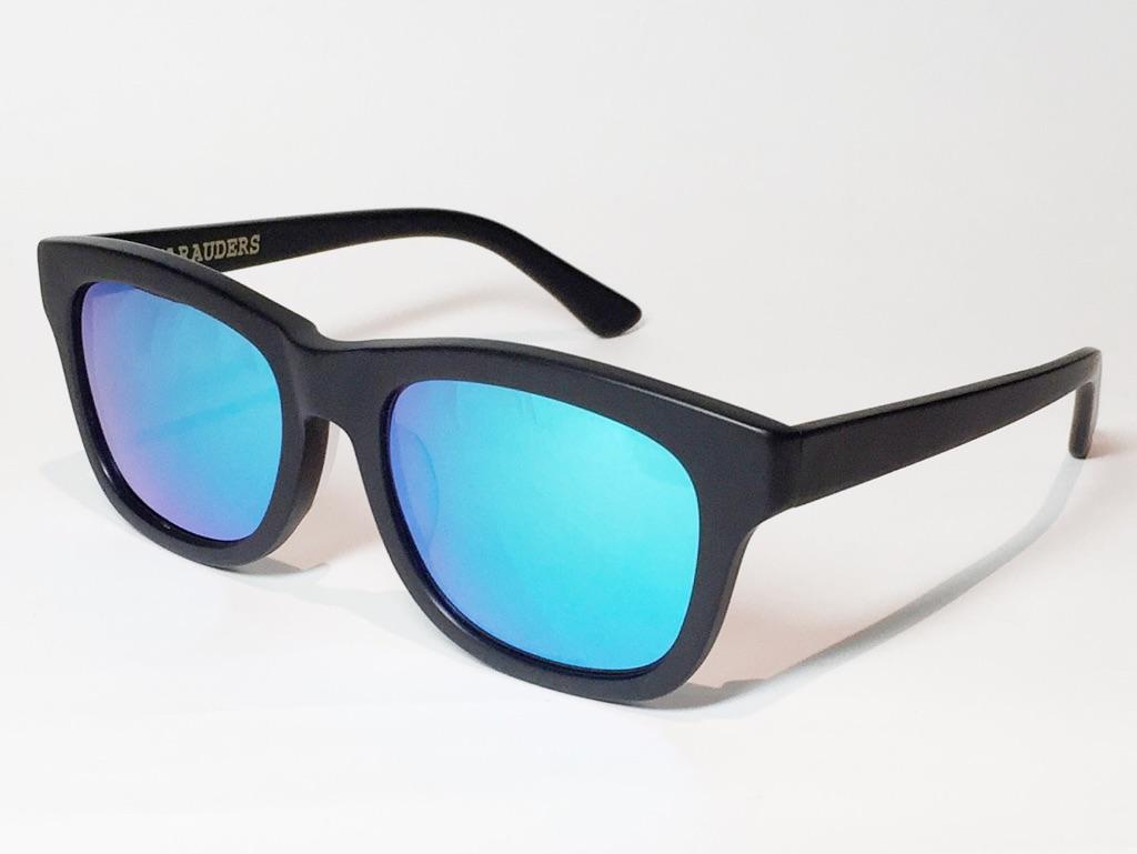 【送料無料】MARAUDERS(マローダーズ) SPELL BOUND C.03  (Matte Black / Blue Mirror Lens)