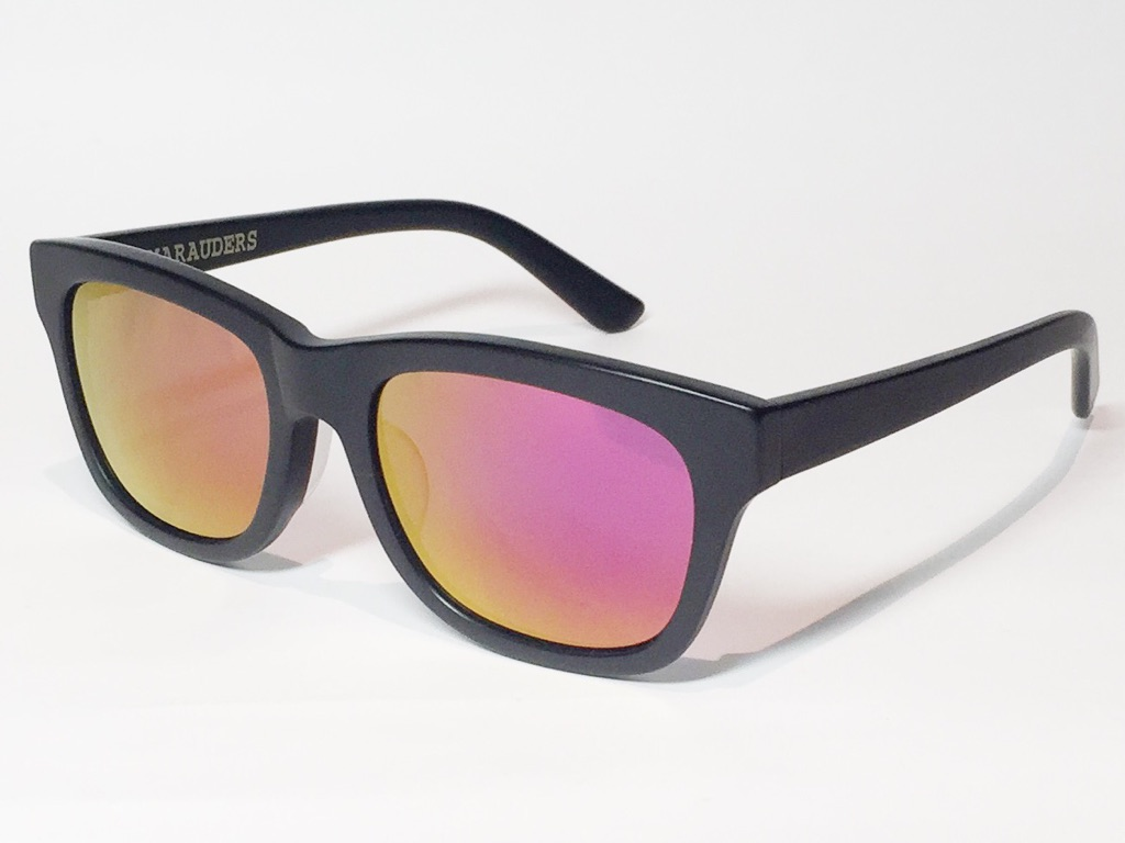 【送料無料】MARAUDERS(マローダーズ) SPELL BOUND C.04  (Matte Black / Red Mirror Lens)