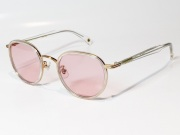 【送料無料】FREEDOM SPECTACLES (フリーダムスペクタクルス) MARLON  COLOR. 15 ( CLEAR - GOLD / PINK )