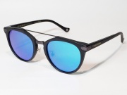 ������̵����FREEDOM SPECTACLES (�ե꡼���ॹ�ڥ������륹�ˡ�POWELL  COLOR. 03 ( Matte Black - Matte Dark Gunmetal / Blue Mirror )
