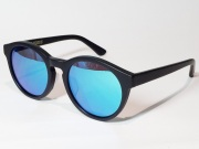 ������̵����MARAUDERS�ʥޥ?�������� BLACK JACK C.03  ��Matte Black / Blue Mirror Lens��