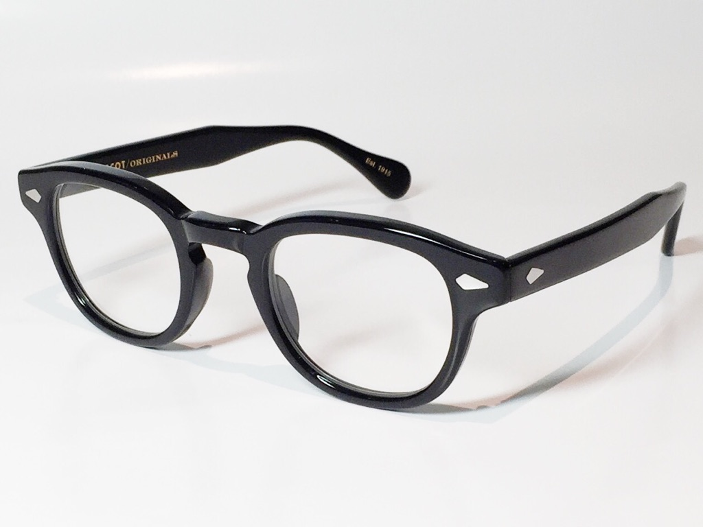 【送料無料】MOSCOT(モスコット) LEMTOSH  size:44 ( BLACK / CLEAR )