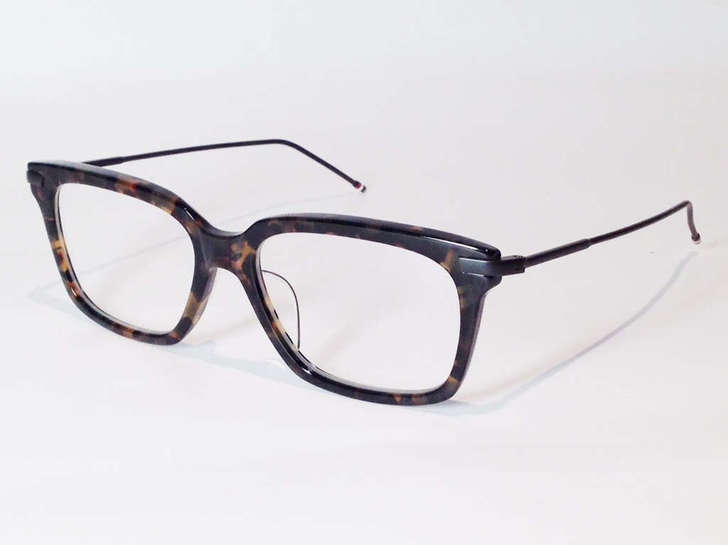 THOM BROWNE(トム ブラウン) TB-701B-TKT-BLK-53 ( TOKYO TORTOISE - BLACK IRON METAL / CLEAR LENS)