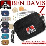 BEN DAVIS コインケース ベンデイビス 小銭入れ シンプル 小銭入れ カジュアル 小銭入れ キーリング付 BEN-409