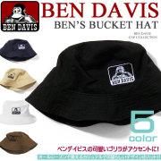BEN DAVIS �ϥå� �٥�ǥ��ӥ� �Х��åȥϥå� �٥�ǡ��ӥ� BUCKET HAT��BEN-450