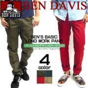 BEN DAVIS パンツ ベンデイビス ワークパンツ ストレートパンツ ゴリラのブランドタグのワンポイント BEN-914