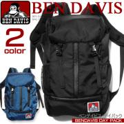 BEN DAVIS ベンデイビス リュックサック デイパック 縦ファスナー 男女兼用バッグ ゴリラタグがポイント BEN-915