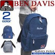 BEN DAVIS ベンデイビス リュックサック デイパック ネーム刺繍とゴリラタグ ギンガムチェック内布 BEN-917