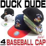 DUCK DUDE �١����ܡ��륭��å� �����ܡ��˾�ä���ޯ����Ĺ���ҥ�Υ���ե�ʥ��顼�λɽ� 4��Ÿ�� CAP-012