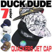 DUCK DUDE 帽子 キャップ ダックデュード ジェットキャップ アヒルフェイスタグがポイント ペアルック CAP-031