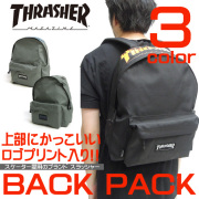THRASHER バッグ スラッシャー リュック バックパック ロゴプリント THRASHER-THRFL-5900