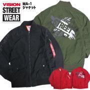 VISION STREET WEAR コーチジャケット ビジョンストリートウェア ラグランコーチジャケット VISION-046