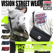 VISION STREET WEAR メッセンジャーバッグ ヴィジョンストリートウェア ショルダーバッグ VISION-319