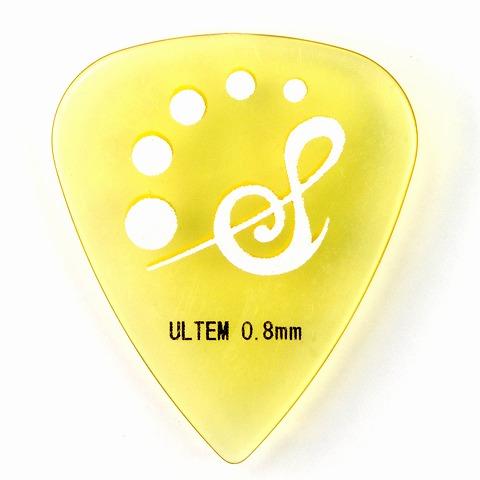 Sago(サゴ) ギターピック Teardrop ウルテム0.8mm 10枚セット