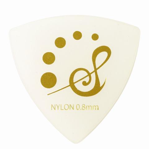 Sago(サゴ) ギターピック Triangle ナイロン0.8mm 10枚セット