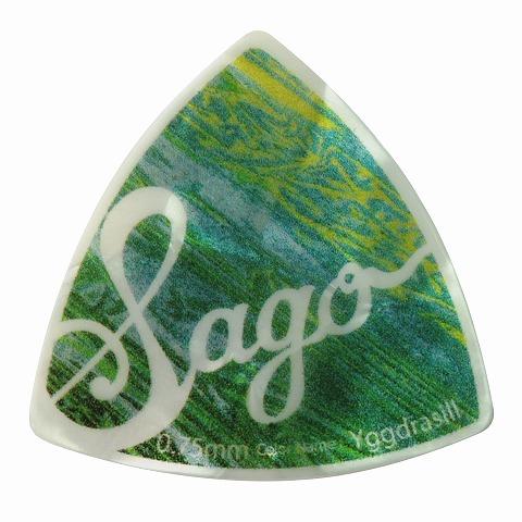 Sago(サゴ) ギターピック Wrapick Triangle Yggdrasill0.75mm 10枚セット