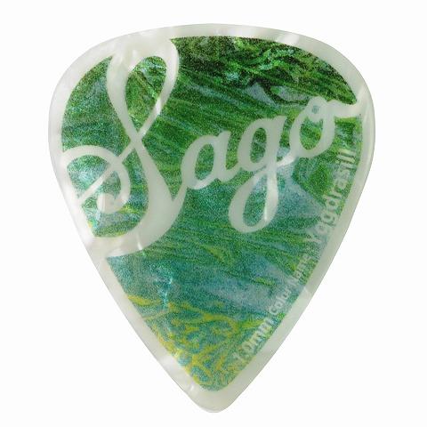 Sago(サゴ) ギターピック Wrapick Teardrop Yggdrasill1.0mm 10枚セット