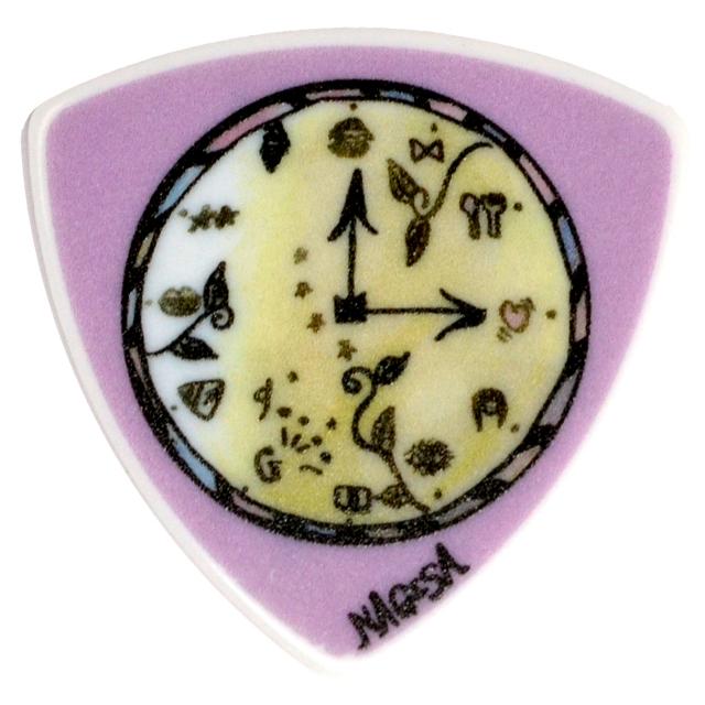 Sago(サゴ) ギターピック GIRLFRIEND NAGISA セルロース0.75mm 10枚セット